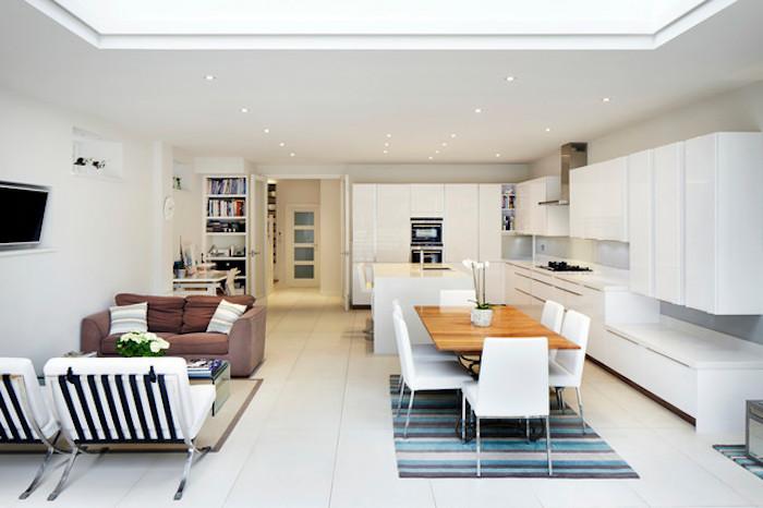 Appartement deco idée déco studio appartement deco chambre a coucher cuisine salon et salle à manger dans une pièce