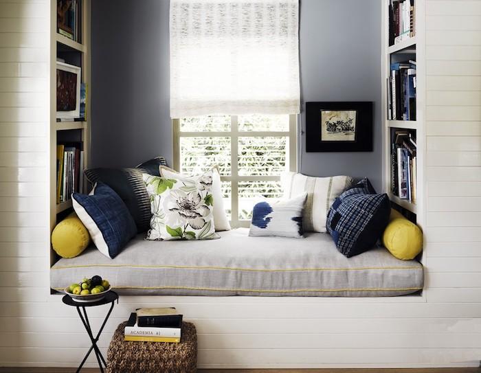 Appartement moderne idée déco studio aménagement studio 30m2 coin lecture décoration fenetre s assoir