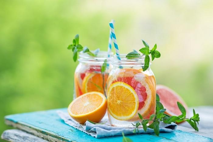 Le meilleur detox concombre citron menthe gingembre avis boisson pour maigrir efficace