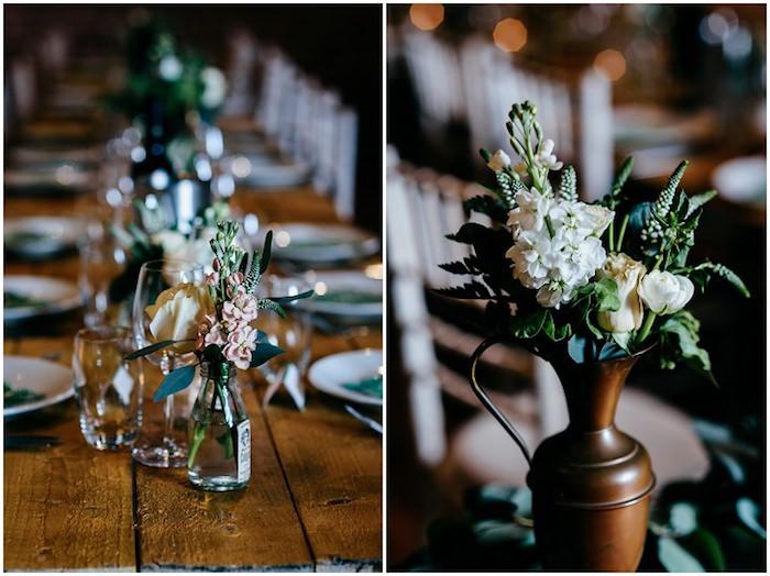 Idee deco mariage menu mariage table déco chouette mariage idée déco simple mariage rustique déco