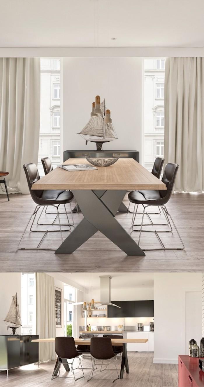 1001 id es en images pour la d co salon salle manger - Decoration salle a manger moderne ...
