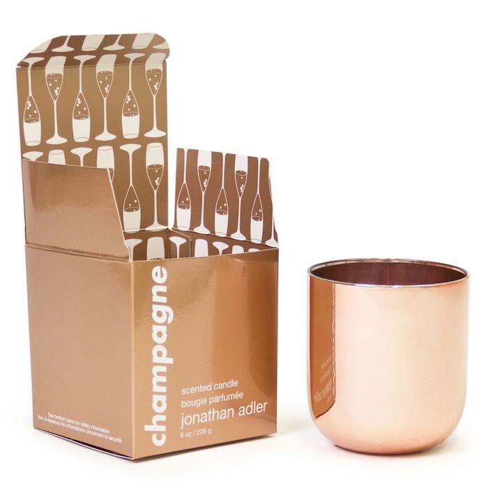 Bougie cuivre aromatisée cadeau pendaison de crémaillère simple cadeau pour crémaillère cadeau cosy maison