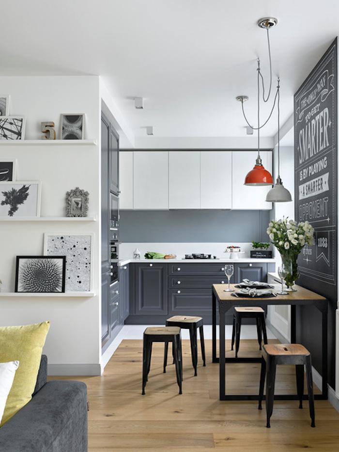 Idée déco studio aménagement studio 30m2 décoration appartement étudiant appartement moderne