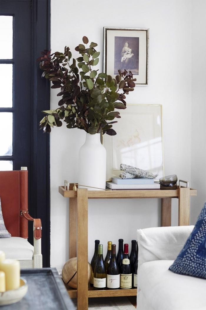 Appartement moderne aménagement petit studio salle de sejour et cuisine deco