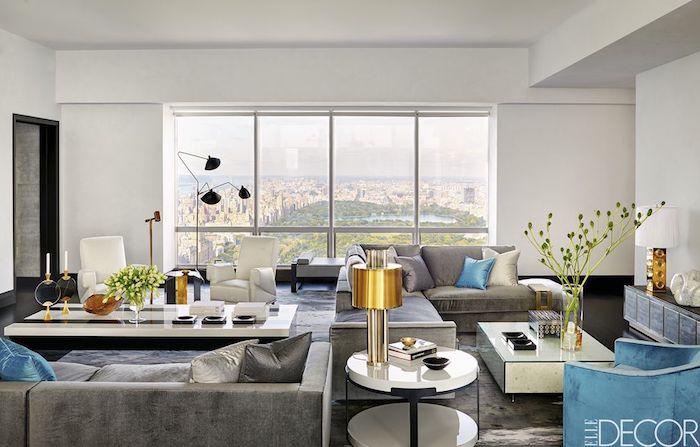 Aménagement petit studio new yorkais aménagement studio 30m2 deco appartement avec magnifique vue de central park