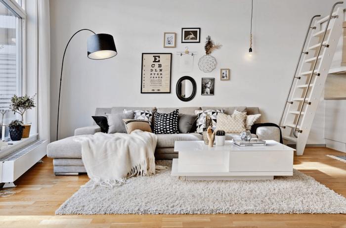 Idée déco studio aménagement petit studio moderne idee decoration d appartement moderne