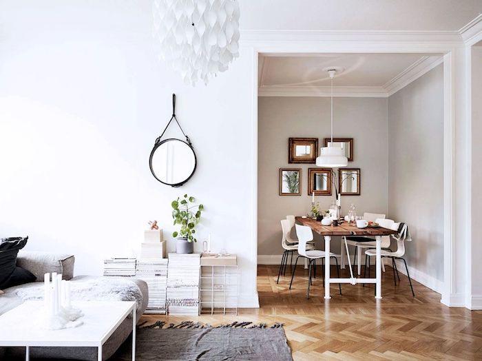 Salon sejour idee deco peinture salon appartement décoration adorable scandinave déco salon salle à manger