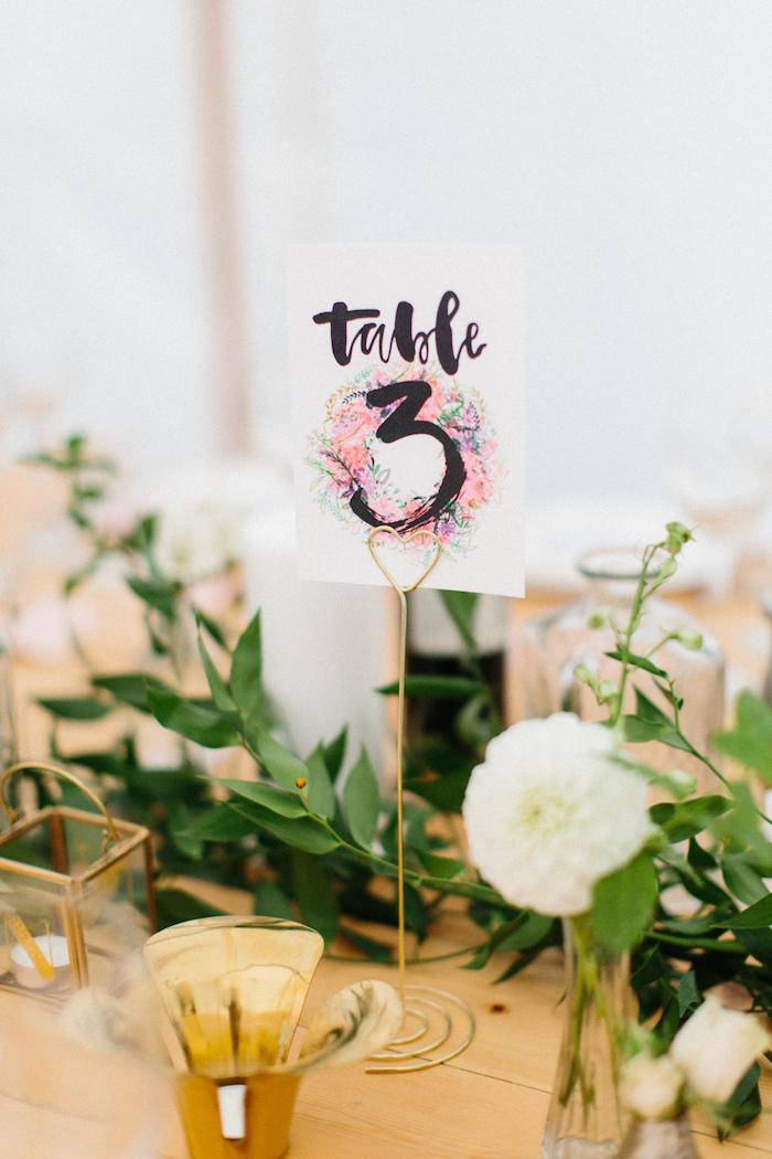 Menu de mariage centre de table mariage comment décorer une salle de mariage marque table mignon déco romantique
