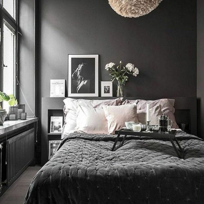 comment cr er et d corer une chambre blanche et grise les r ponses en 95 photos obsigen. Black Bedroom Furniture Sets. Home Design Ideas