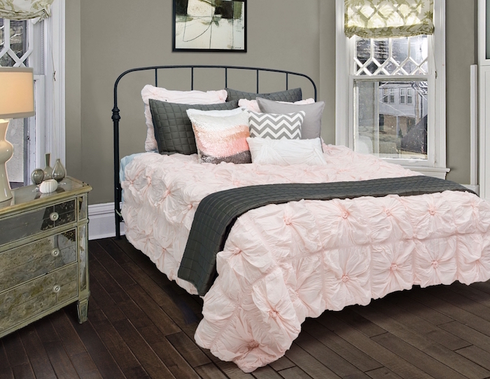 peinture chambre fille variez les palettes obsigen. Black Bedroom Furniture Sets. Home Design Ideas