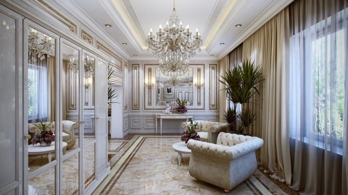 1001 id es g niales pour la d co entr e maison r ussie - Deco couloir baroque ...