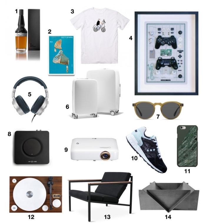 quel cadeau choisir pour un homme, appareils smart technologie et accessoires de mode pour homme