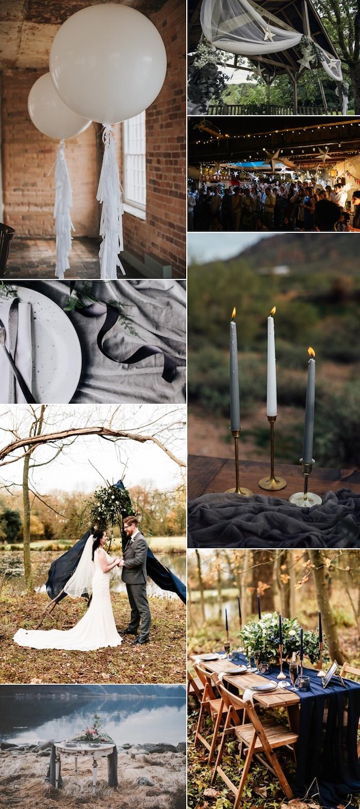 Porte menu mariage centre de table mariage assiettes à choisir cool idée déco idées mariage