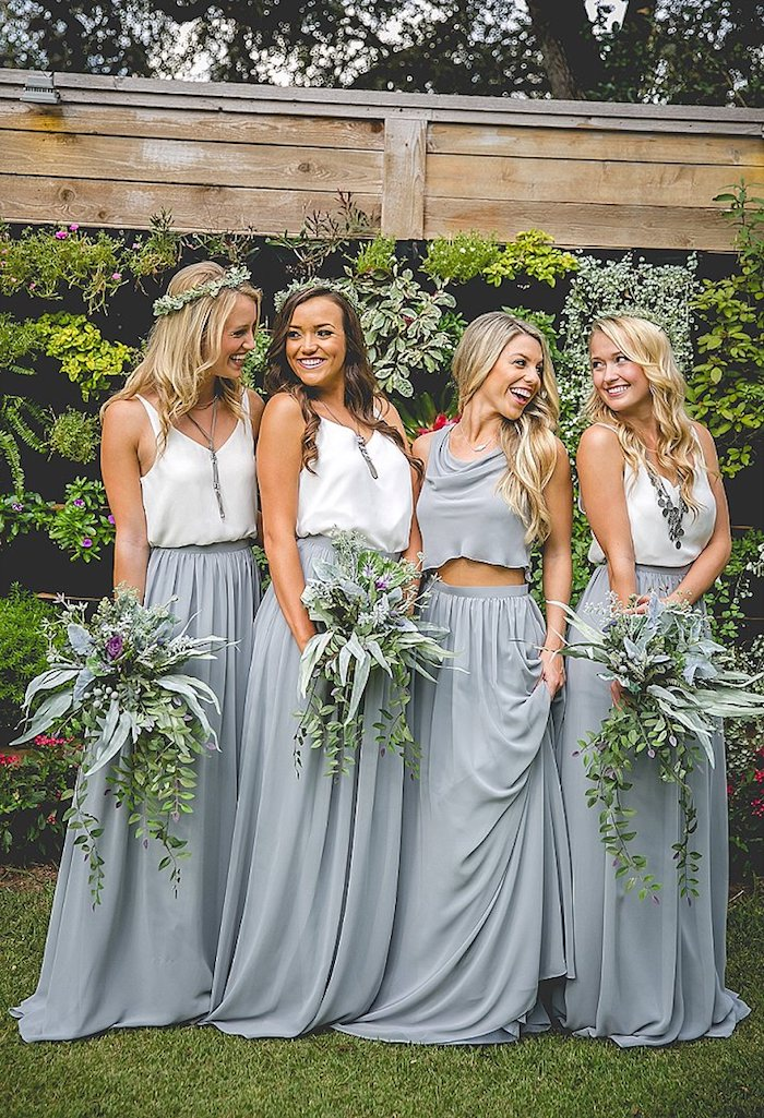 Superbe robe chic pour mariage cool idée tenue mariage simple robe longue