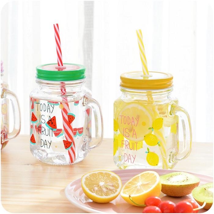 Boisson detox minceur maison eau pour perdre du poids boisson detox citron menthe idée verre joviale