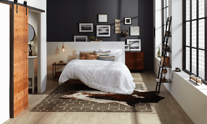 1001 id es top pour d corer une chambre style industriel. Black Bedroom Furniture Sets. Home Design Ideas