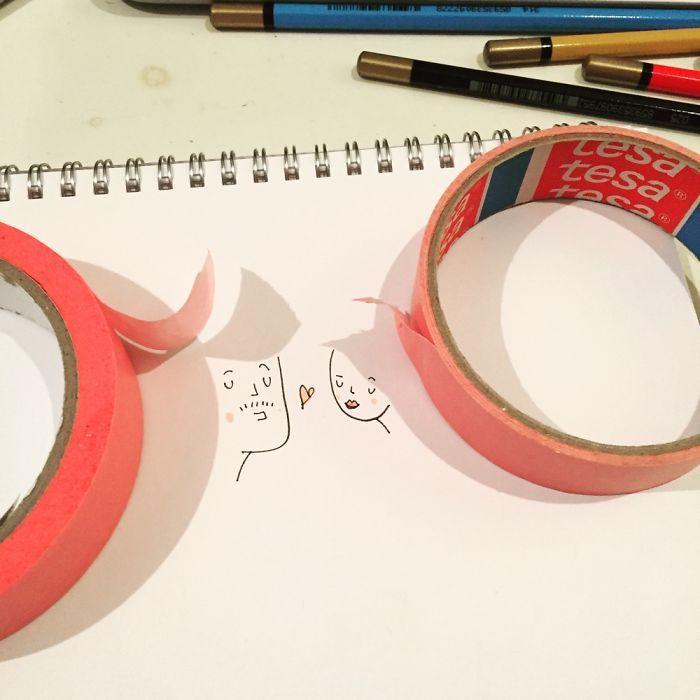 Kiwi dessin ou glace kawaii dessin etape par etape cool idee art sympatique dessin ombre dessin