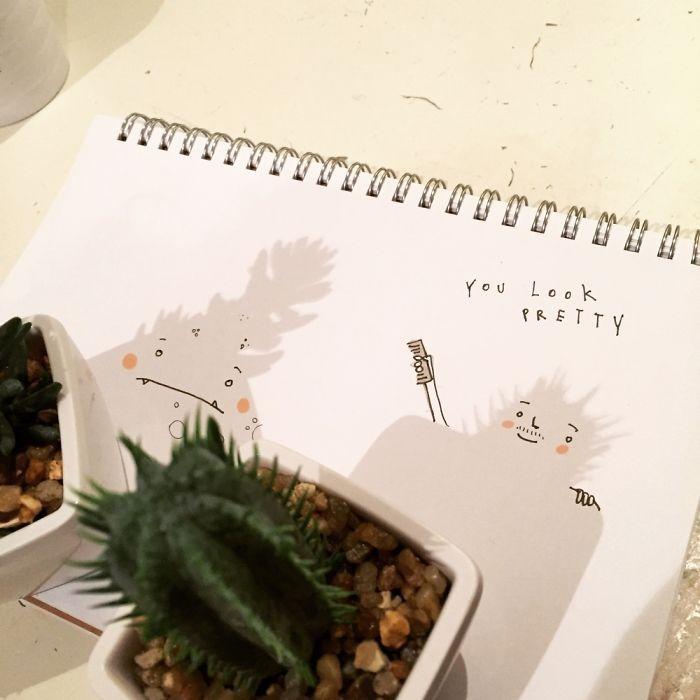 Originale idée de dessin avec ombre comment dessiner un dessin mignon dessin tres facile idee quoi dessiner mignon