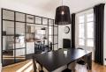 Séparation cuisine salon – coulissez une porte ouverte