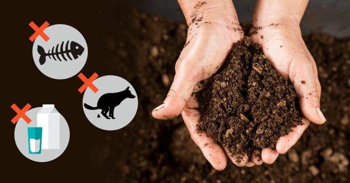les matières et produits à éviter de composter, os de viande ou de poisson et produits laitières à ne pas utiliser pour compost