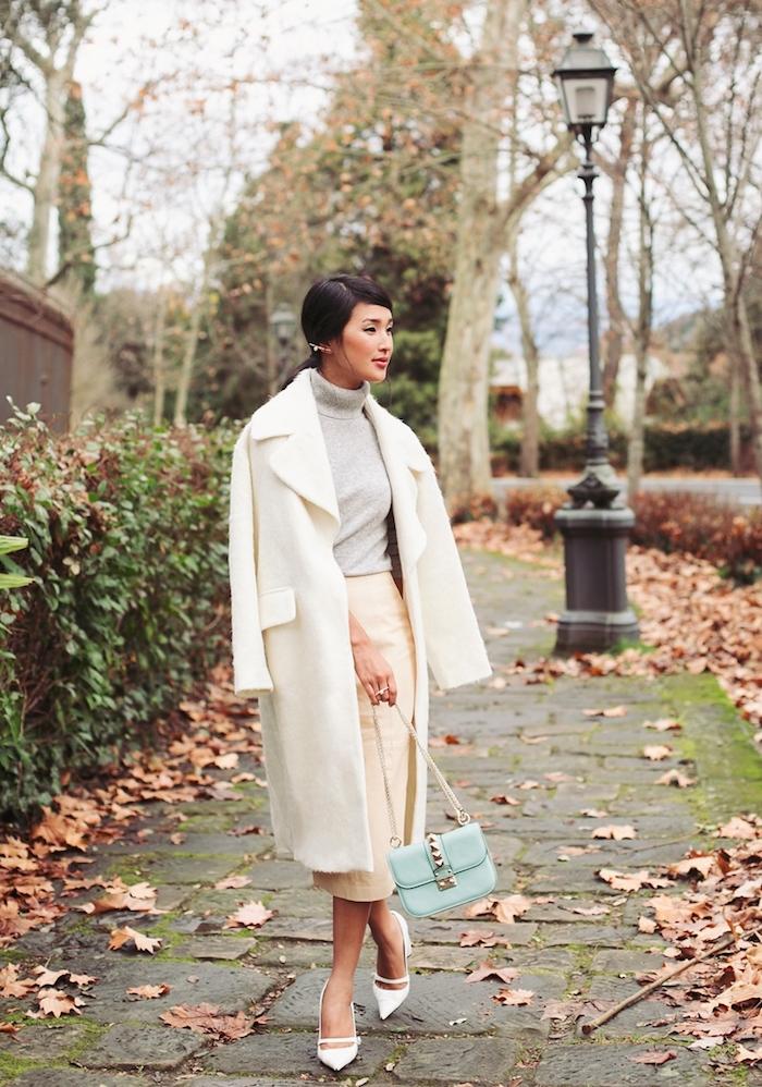 Comment s habiller pour un mariage en hiver tenue femme invitée inspiration photo sac a main chanel