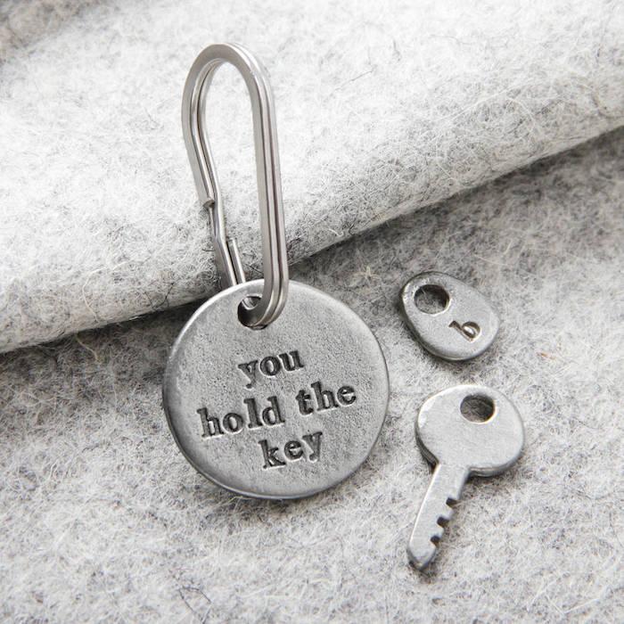 Cool idee cadeau pendaison de crémaillère idée cadeau crémaillère porte clé originale gravé
