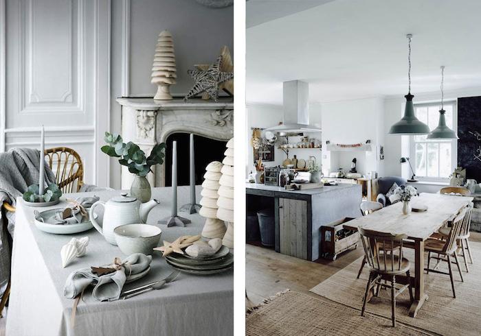 Amenager petit salon hygge deco moderne salon décorer son salon belle déco salle à manger table rustique