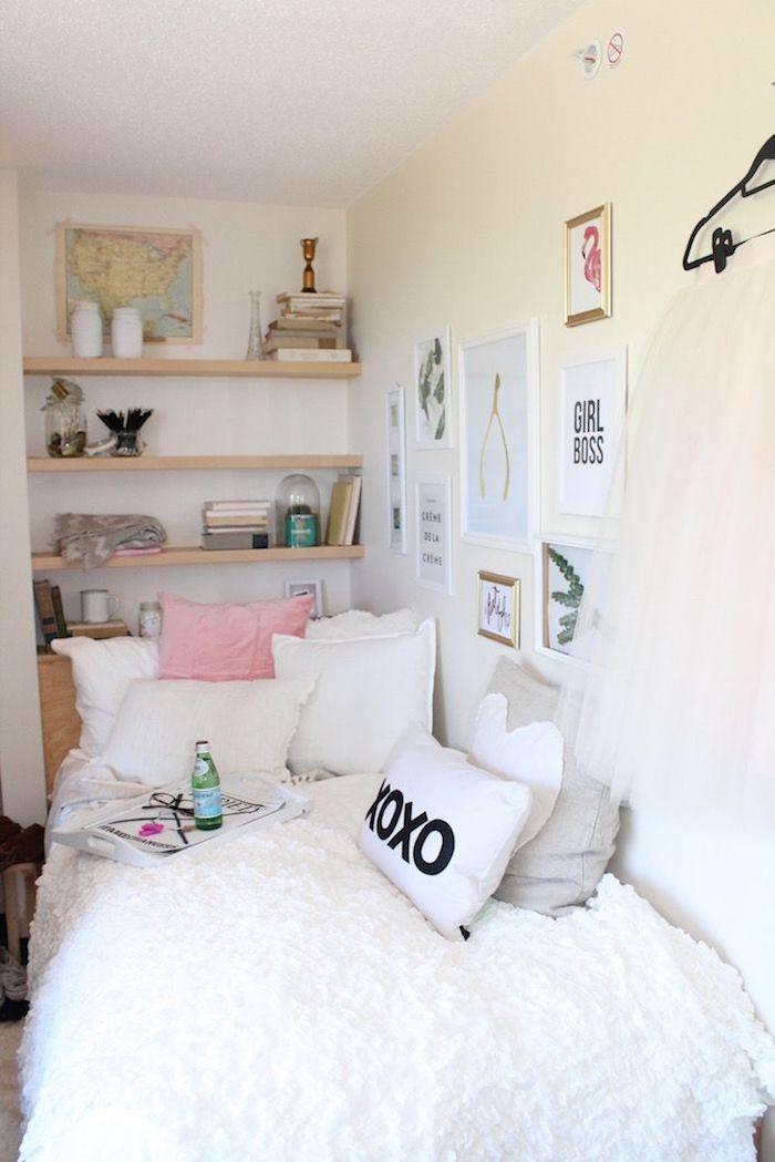 Idée déco studio décoration d intérieur amenager son appartement stylé petite chambre à coucher appartement étudiant