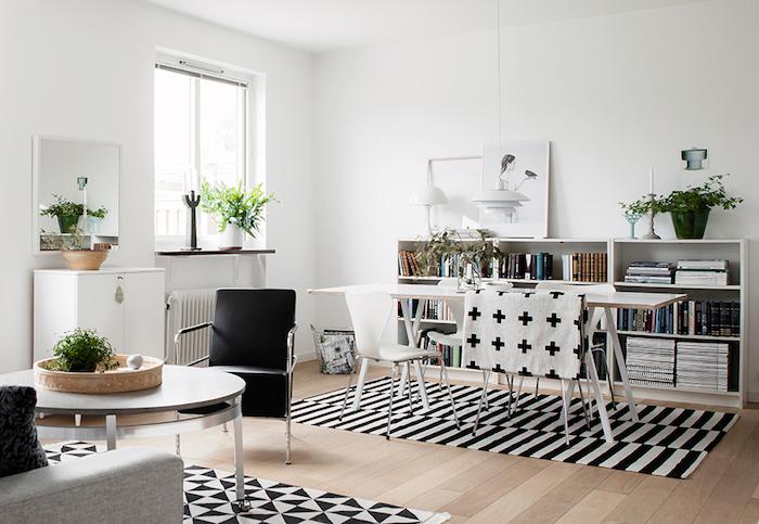 Idee deco peinture salon deco moderne salon déco salon salle à manger séparés par tapis