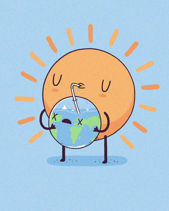 Dessin kawaii a imprimer vidéos de dessin adorable art dessiner des dessins mignons la terre et le soleil animation