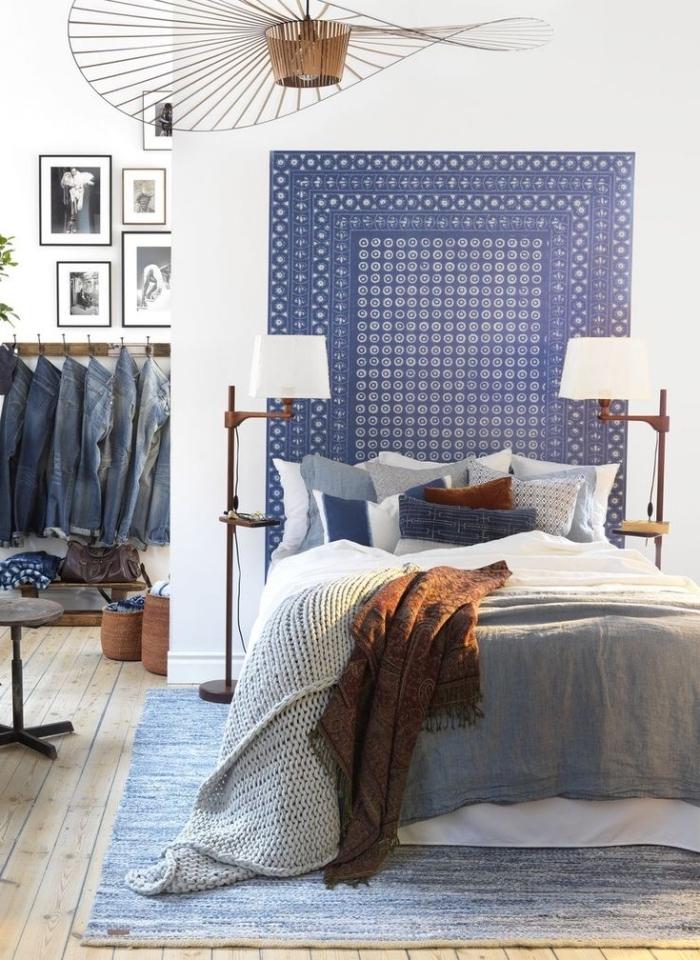 ▷ 1001 + idées déco DIY pour la chambre à coucher avec une tête