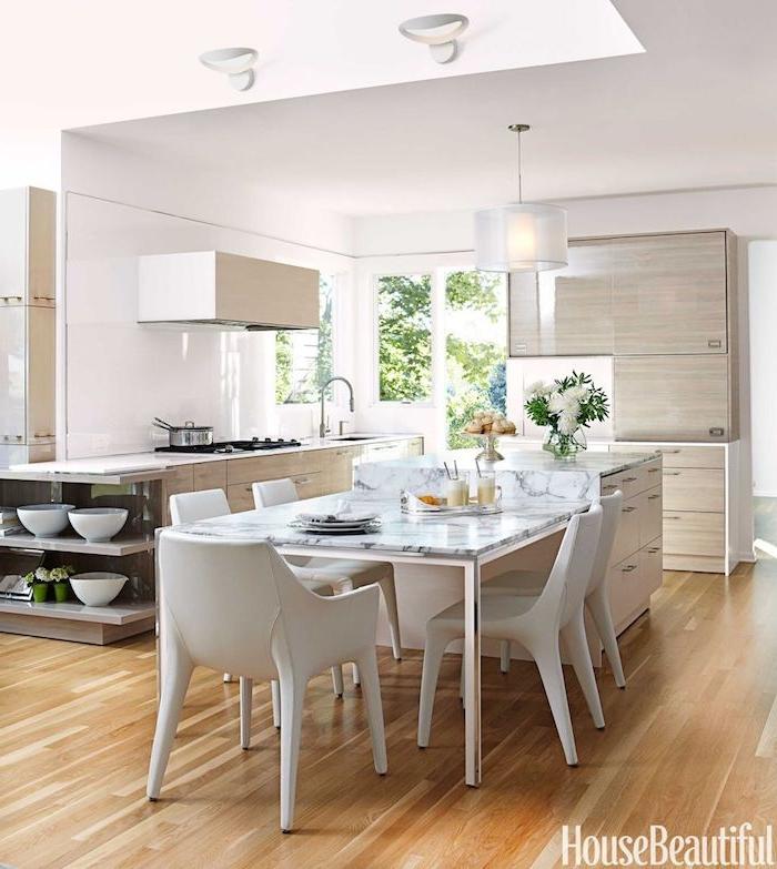 Décorer son salon deco moderne salon idée déco salon salle à manger comment faire cuisine ilot avec table à manger