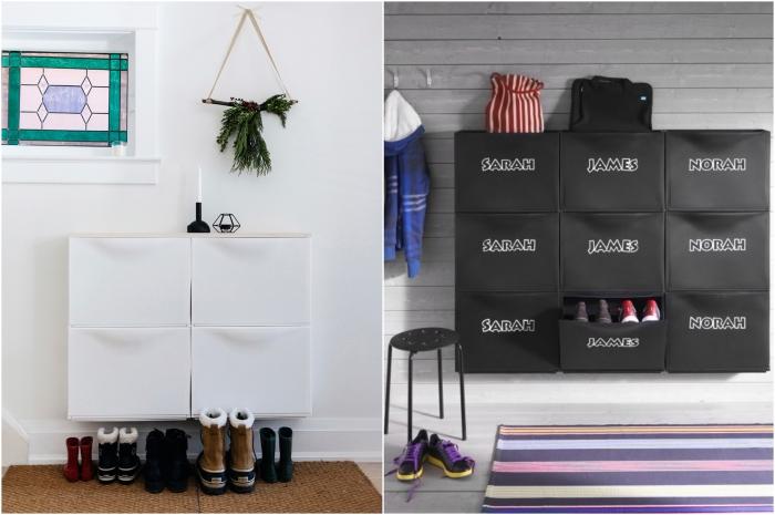 astuce rangement chaussures nos conseils pour mettre de. Black Bedroom Furniture Sets. Home Design Ideas