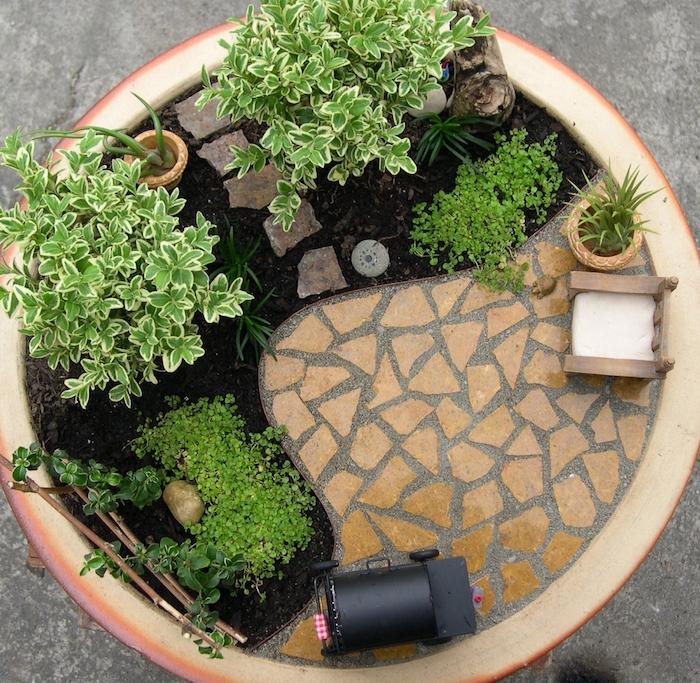 ▷ 1001 + idées | Jardin japonais miniature – un concentré ...