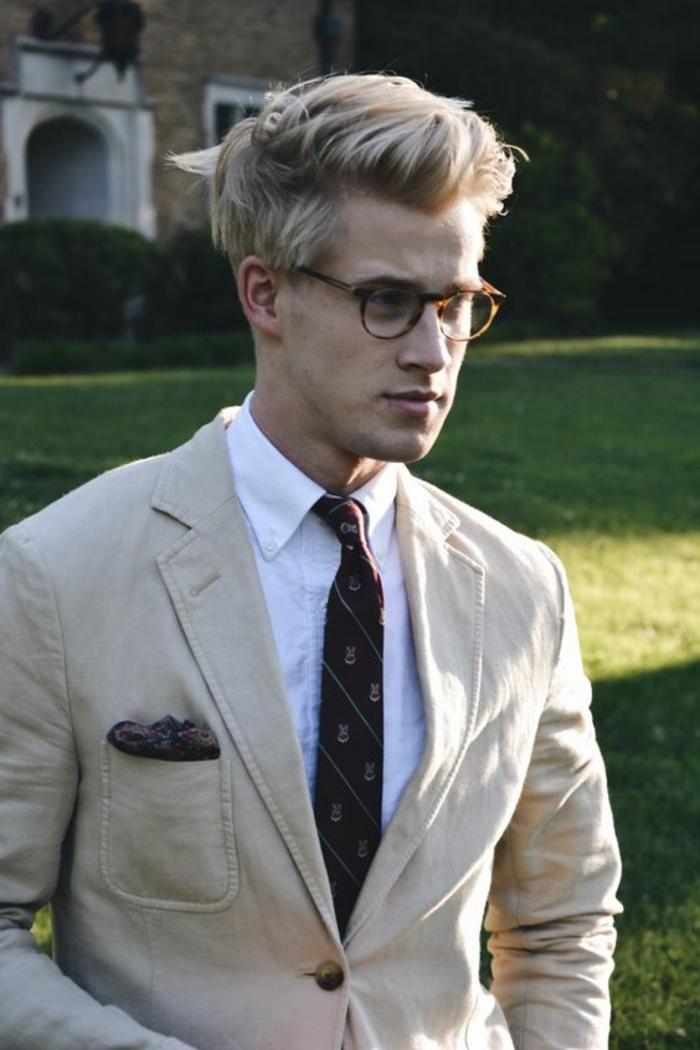 monture de lunette, lunette hipster, monture tortoise, marron clair et beige, lunettes de vue homme tendance, produits d'optique d'actualité