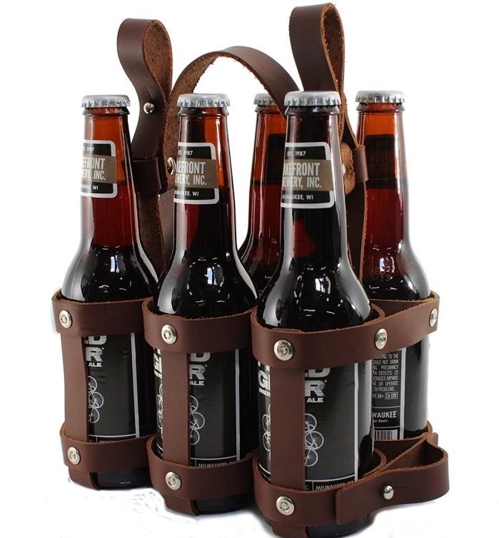 exemple d'objet original sur le thème de bière avec un set de bouteilles bières, idee cadeau fete des peres