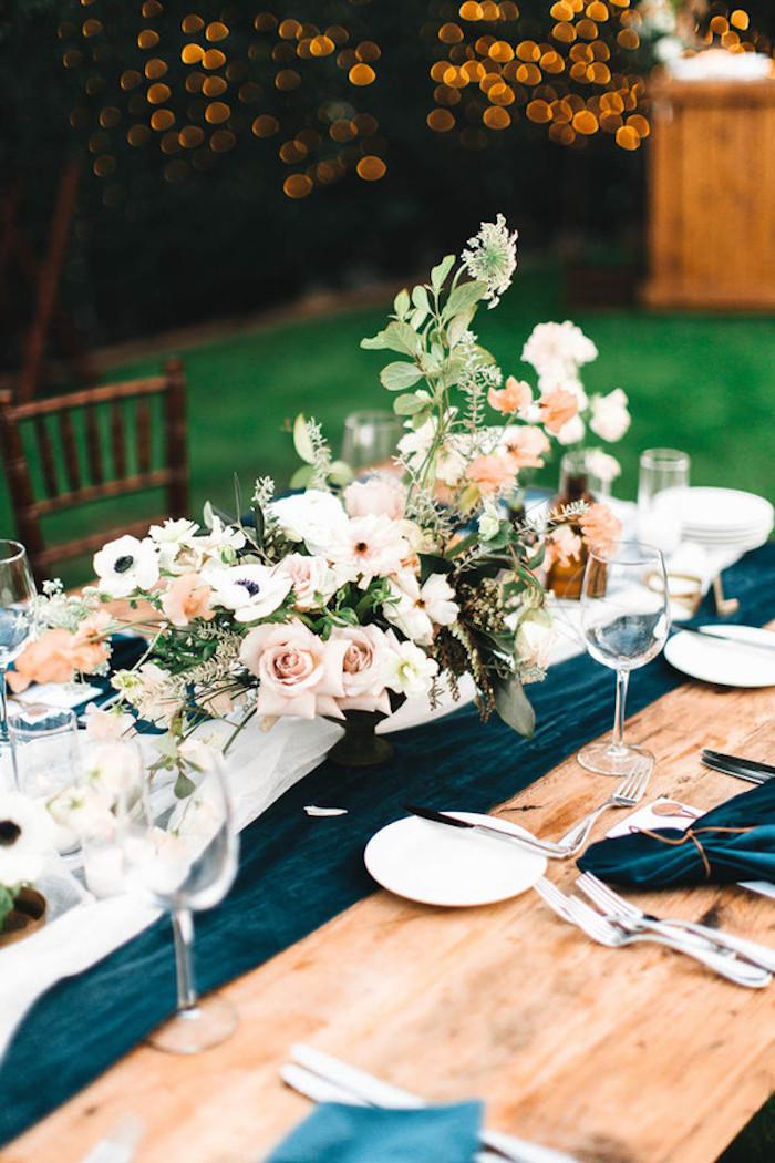 Deco de table mariage décoration salle de mariage table thématique
