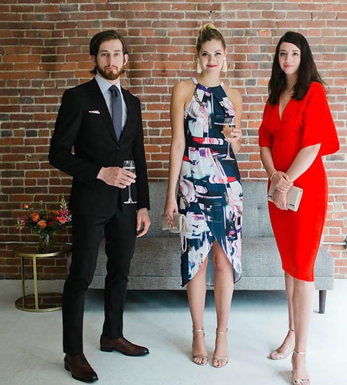 Cool idée comment s'habiller pour un mariage tenue femme invitée inspiration photo les invités stylés