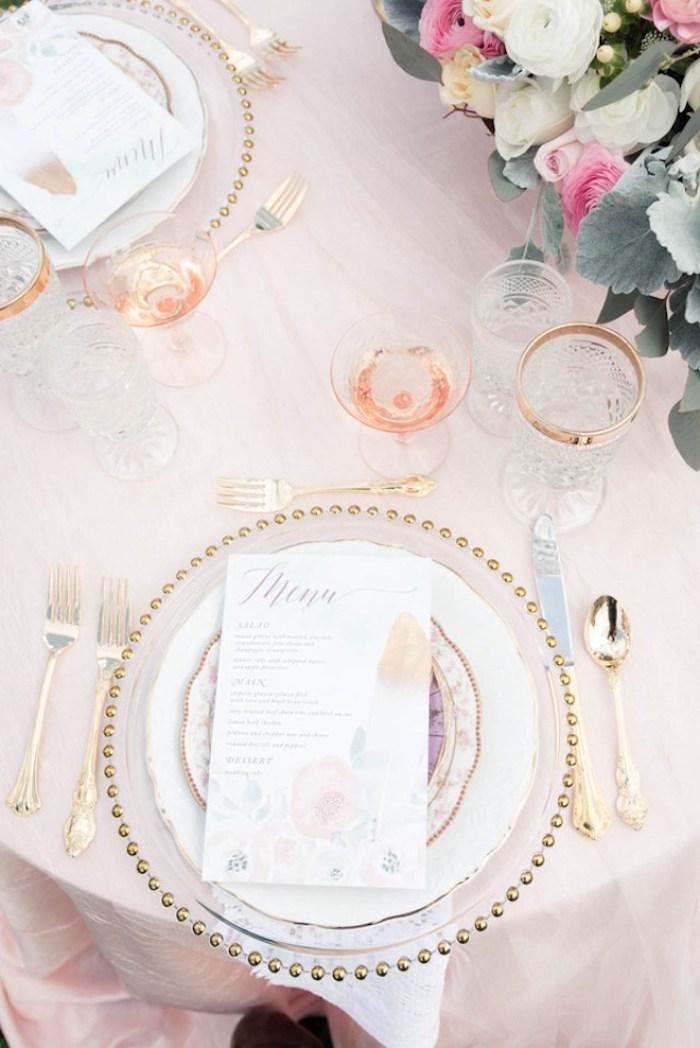 Mariage pas cher décoration de table mariage chic idée déco romantique table