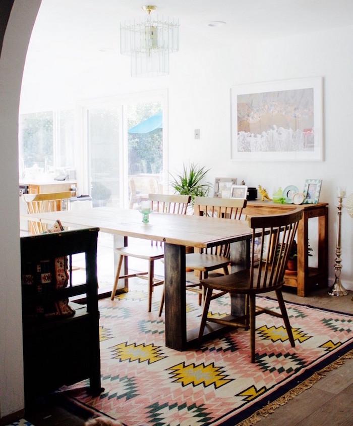 1001 id es salle manger design une louch e de styles - Salle a manger design blanche et bois en quelques idees ...