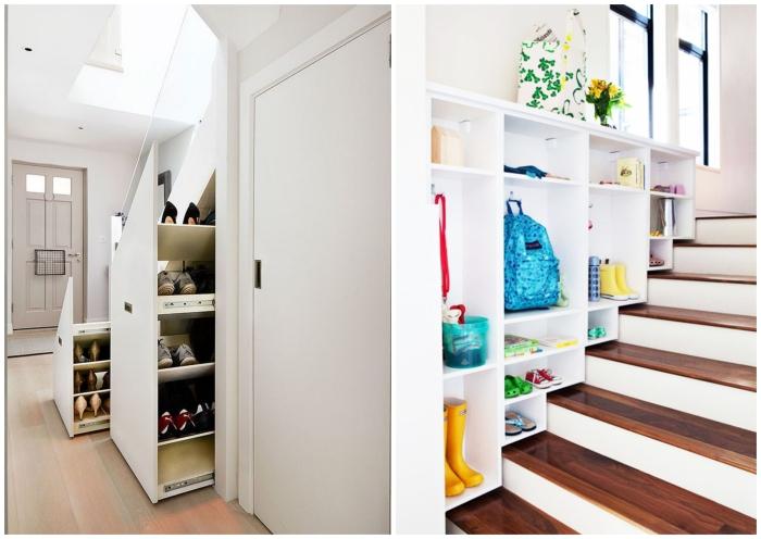 1001 id es pour trouver l 39 astuce rangement chaussures id ale pour votre int rieur. Black Bedroom Furniture Sets. Home Design Ideas
