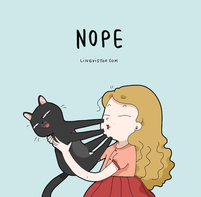 Comment dessiner un chat mignon et comment dessiner un chien mignon fille et chat