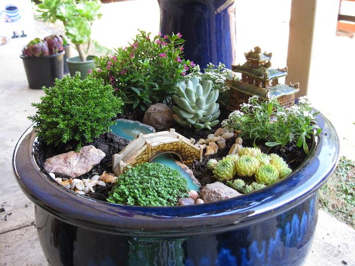 ▷ 1001 + idées | Jardin japonais miniature – un concentré du monde