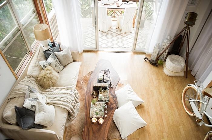 Appartement moderne décoration d intérieur danois decoration nordique décoration salon en blanc et bois