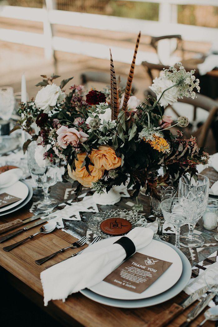 Décoration de table pas cher deco mariage a faire soi meme belle décoration table automne
