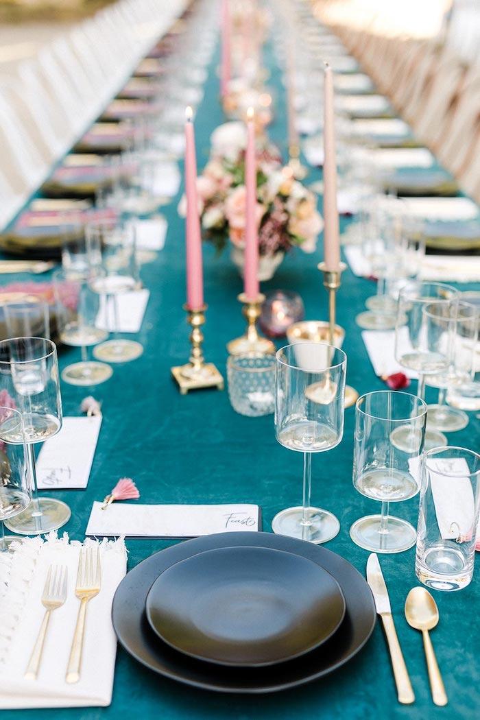 Deco table mariage champetre décoration de table mariage idée chouette déco