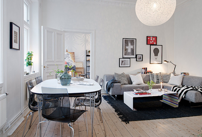 Couleur de peinture pour salon salle a manger amenager petit salon décorer bien scandinave déco