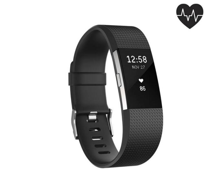 exemple de bracelet ou montre digital de couleur noir mate pour cadeau anniversaire papa qui aime faire du sport