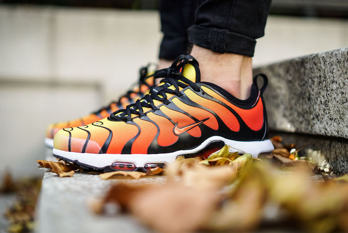 idée photo sneakers tendance Nike Air Max TN Ultra Tiger modele homme 2018