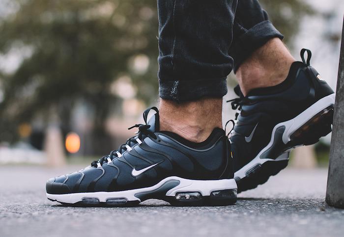 sneakers tendance 2018 Nike Air Max TN Ultra Black Grey bleu marine homme